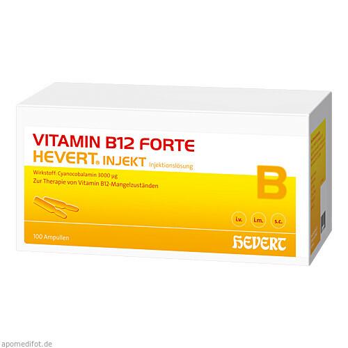 VITAMIN B12 FORTE HEVERT INJEKT, 100X2 ML, Hevert Arzneimittel GmbH & Co. KG