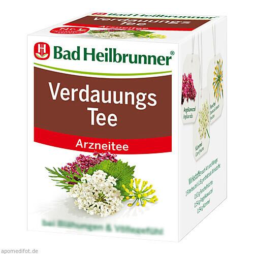BAD HEILBR VERDAUUNGSTEE, 8X2.0 G, Bad Heilbrunner Naturheilmittel GmbH & Co. KG