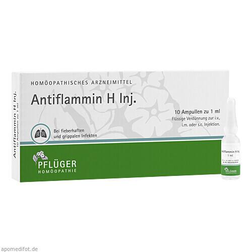 ANTIFLAMMIN H INJ, 10X1 ML, A.Pflüger GmbH & Co. KG
