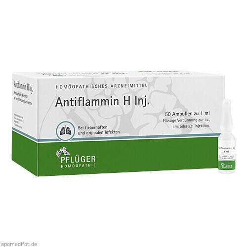 ANTIFLAMMIN H INJ, 50X1 ML, Homöopathisches Laboratorium Alexander Pflüger GmbH & Co. KG