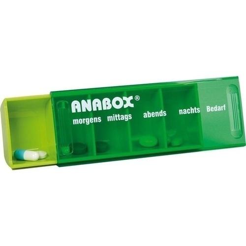 ANABOX-Tagesbox hellgrün, 1 ST, WEPA Apothekenbedarf GmbH & Co KG