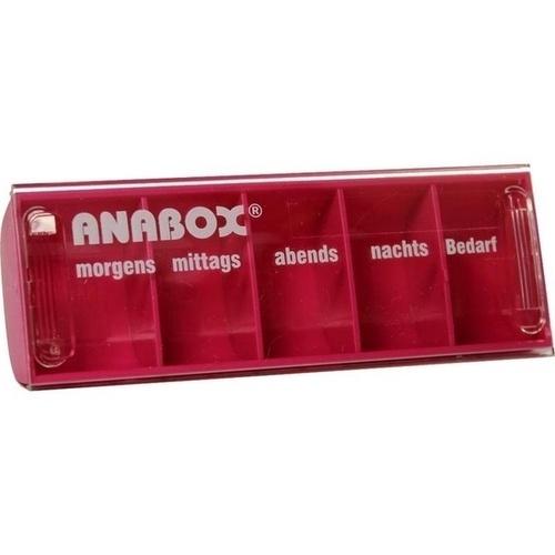 ANABOX-Tagesbox pink, 1 ST, WEPA Apothekenbedarf GmbH & Co KG