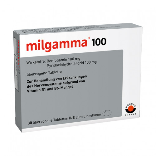 MILGAMMA 100MG, 30 ST, Wörwag Pharma GmbH & Co. KG