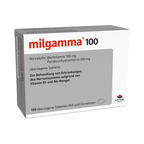 MILGAMMA 100MG, 100 ST, Wörwag Pharma GmbH & Co. KG