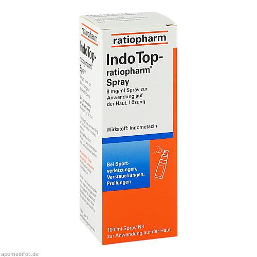 INDO TOP ratiopharm Spray, 100 ML, ratiopharm GmbH