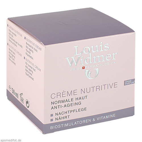 WIDMER CREME NUTRITIV UNPA, 50 ML, Louis Widmer GmbH