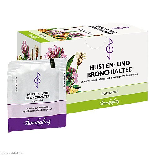 HUSTEN UND BRONCHIALTEE I, 20X2 G, Bombastus-Werke AG