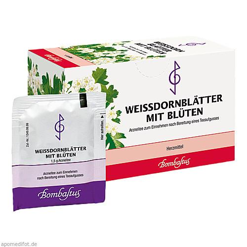 WEISSDORNBLAETTER M BLUETE, 20X1.5 G, Bombastus-Werke AG
