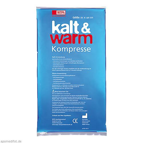 KALT WARM KOMPR 21X40CM, 1 ST, WEPA Apothekenbedarf GmbH & Co KG