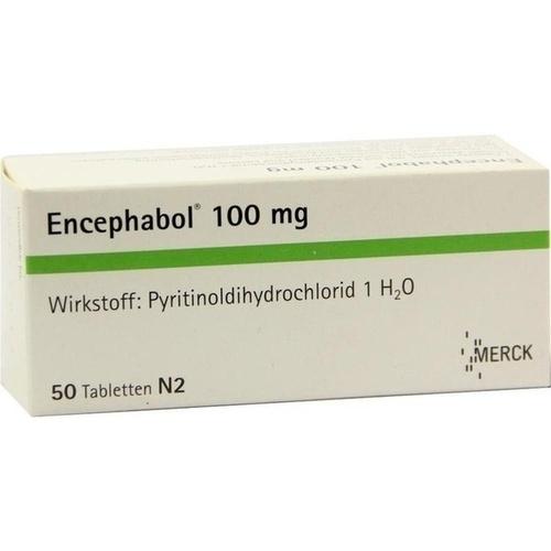 ENCEPHABOL 100, 50 ST, Merck Serono GmbH