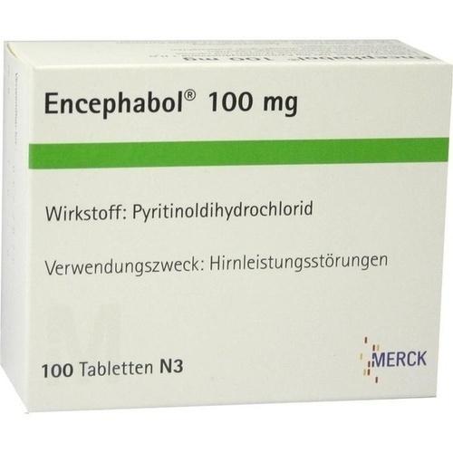 ENCEPHABOL 100, 100 ST, Merck Serono GmbH