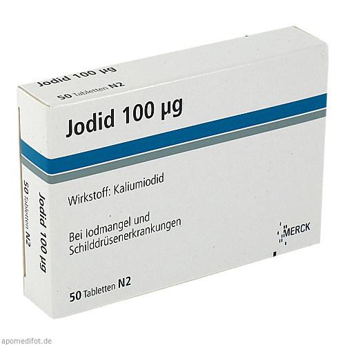 JODID 100, 50 ST, Merck Serono GmbH