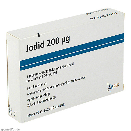 JODID 200, 50 ST, Merck Serono GmbH