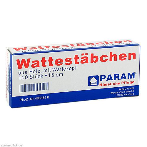 WATTESTAB MIT WATTEK 15CM, 100 ST, Param GmbH