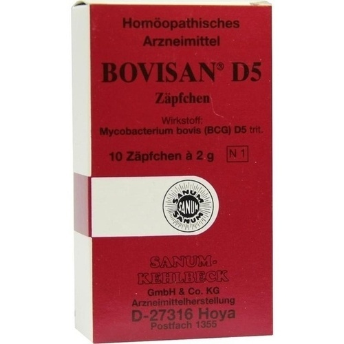BOVISAN D 5, 10X2 G, Sanum-Kehlbeck GmbH & Co. KG