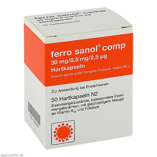 FERRO SANOL COMP, 50 ST, UCB Pharma GmbH