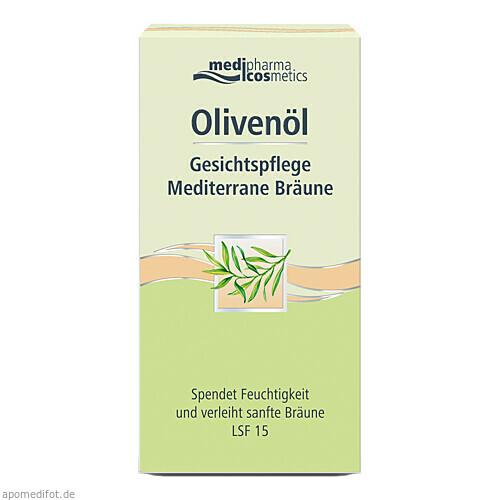 Olivenöl Gesichtspflege Mediterrane Bräune, 50 ML, Dr. Theiss Naturwaren GmbH
