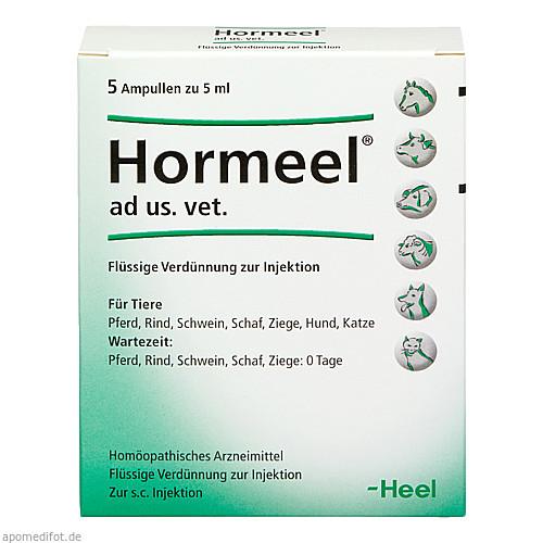 HORMEEL ad us.vet.Ampullen, 5X5 ML, Biologische Heilmittel Heel GmbH