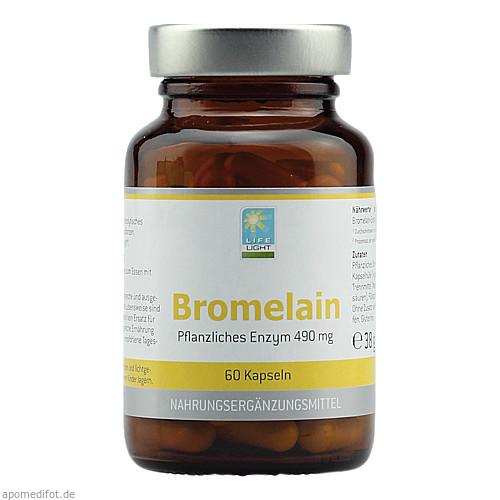 Bromelain 500 mg, 60 ST, Apozen Vertriebs GmbH