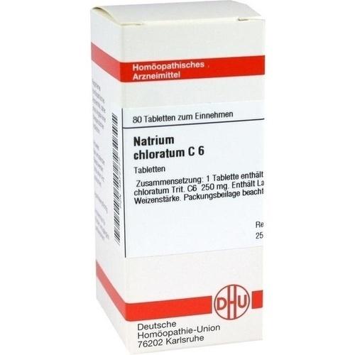 NATRIUM CHLORAT C 6, 80 ST, Dhu-Arzneimittel GmbH & Co. KG