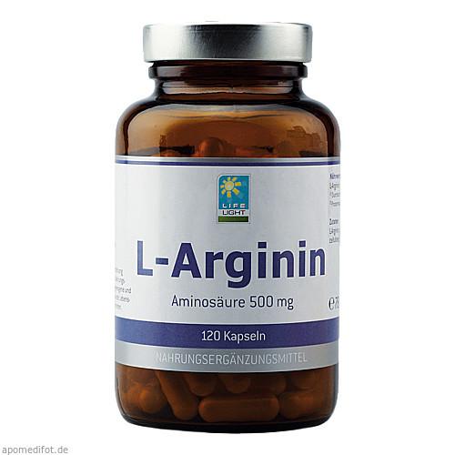 L-Arginin 500 mg, 120 ST, Apozen Vertriebs GmbH