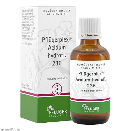 PFLUEGERPLEX ACIDUM HYDROFL 236, 50 ML, Homöopathisches Laboratorium Alexander Pflüger GmbH & Co. KG