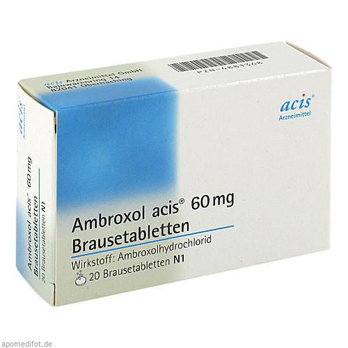 Ambroxol acis 60mg Brausetabletten, 20 ST, Acis Arzneimittel GmbH