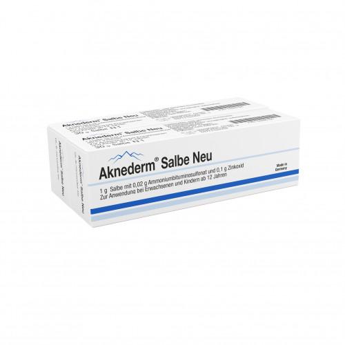 AKNEDERM SALBE NEU, 60 G, Gepepharm GmbH