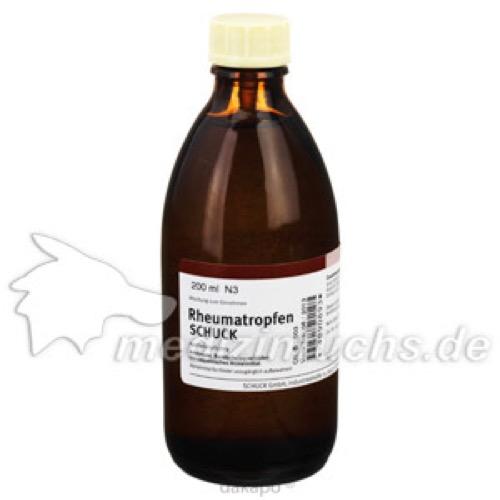 RHEUMATROPFEN SCHUCK, 200 ML, Schuck GmbH Arzneimittelfabrik