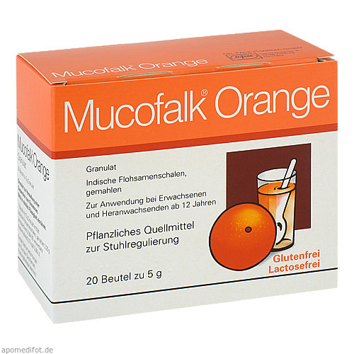 MUCOFALK ORANGE BTL, 20 ST, Dr. Falk Pharma GmbH