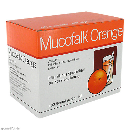 MUCOFALK ORANGE BTL, 100 ST, Dr. Falk Pharma GmbH
