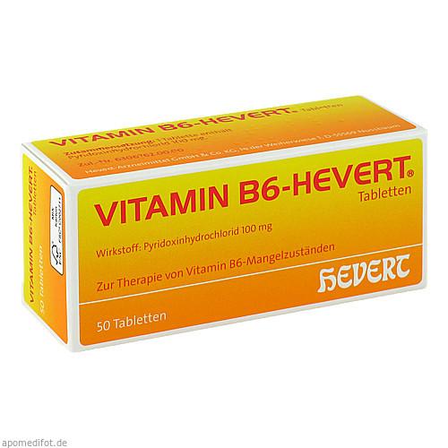VITAMIN B6 HEVERT, 50 ST, Hevert Arzneimittel GmbH & Co. KG