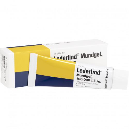 LEDERLIND MUNDGEL, 25 G, Abanta Pharma GmbH