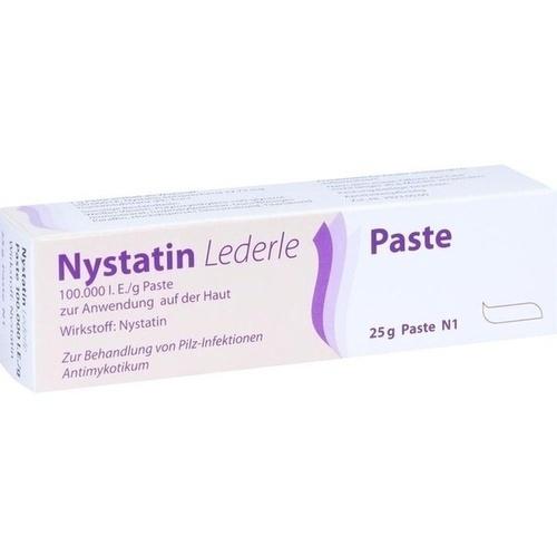 NYSTATIN LEDERLE, 25 G, Meda Pharma GmbH & Co. KG