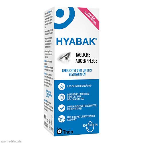 Hyabak, 10 ML, Thea Pharma GmbH