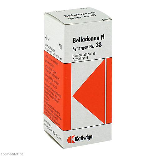 SYNERGON KOMPL BELLAD N 38, 20 ML, Kattwiga Arzneimittel GmbH