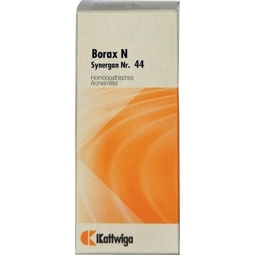 SYNERGON KOMPL BORAX N 44, 20 ML, Kattwiga Arzneimittel GmbH