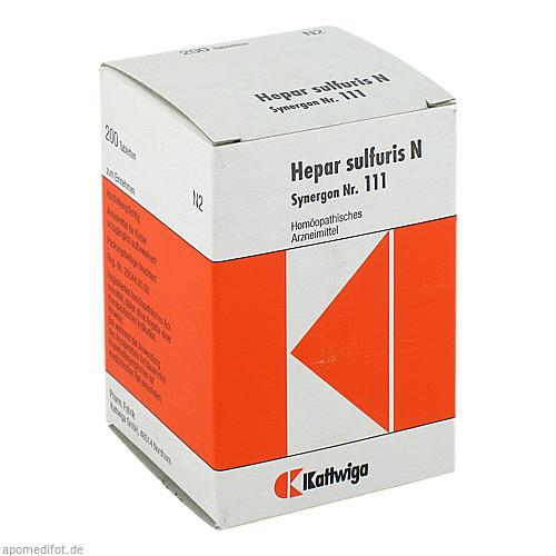 SYNERGON KOMPL HEP SU N111, 200 ST, Kattwiga Arzneimittel GmbH
