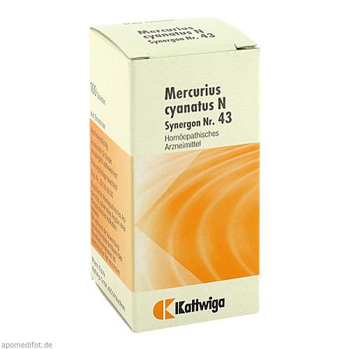 SYNERGON KOMPL MERC CY N43, 100 ST, Kattwiga Arzneimittel GmbH