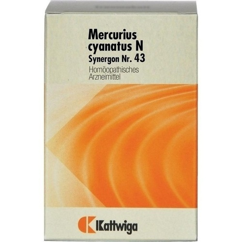 SYNERGON KOMPL MERC CY N43, 200 ST, Kattwiga Arzneimittel GmbH