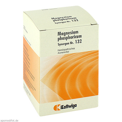 SYNERGON KOMPL MAGN PH 132, 200 ST, Kattwiga Arzneimittel GmbH