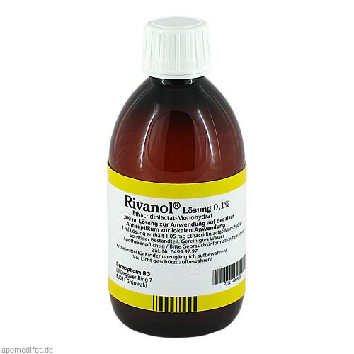 RIVANOL LOESUNG 0.1%, 300 ML, Dermapharm AG