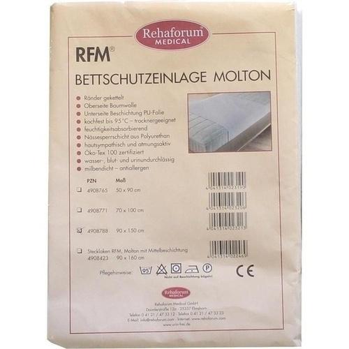 Betteinlage Molton/PVC 90x150cm, 1 ST, Rehaforum Medical GmbH