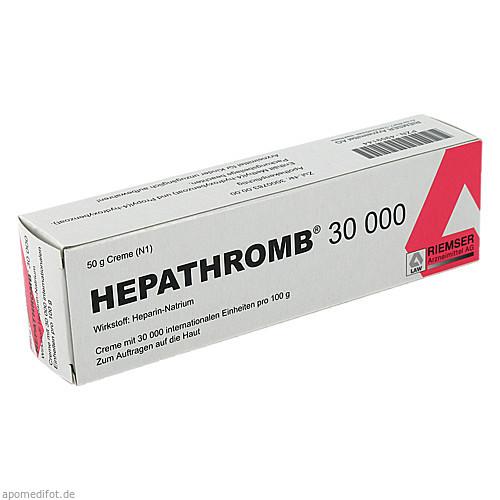 HEPATHROMB 30000, 50 G, Riemser Pharma GmbH