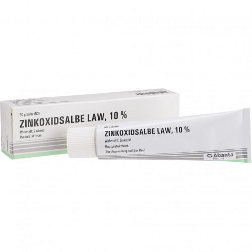 ZINKOXIDSALBE LAW, 50 G, Abanta Pharma GmbH