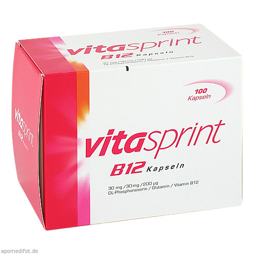 VITASPRINT B12, 100 ST, Pfizer Consumer Healthcare GmbH