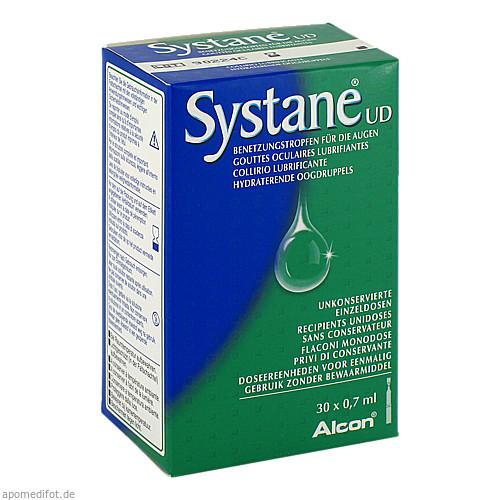 Systane UD Benetzungstropfen für Augen, 30X0.7 ML, Alcon Pharma GmbH