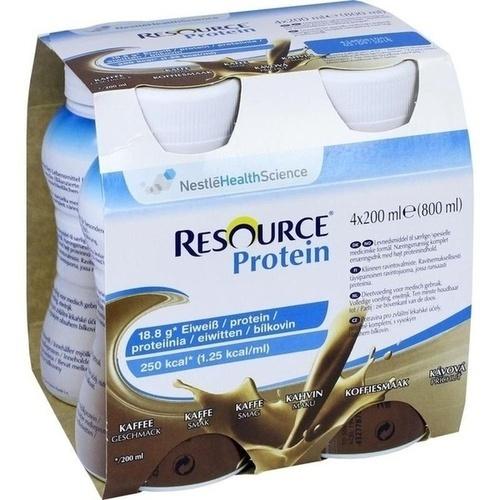 Resource Protein Drink Kaffee, 4X200 ML, Ghd Direkt Ii GmbH Vertriebslinie Nestle