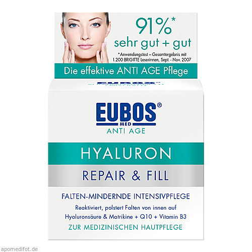 EUBOS SENSITIVE Hyaluron Repair & Fill Creme, 50 ML, Dr.Hobein (Nachf.) GmbH