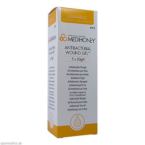 MEDIHONEY Antibakterielles Wundgel, 5X20 G, Apofit Arzneimittelvertrieb GmbH